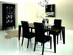 black dining room set dining table and chairs rustic dining room table sets granite inside