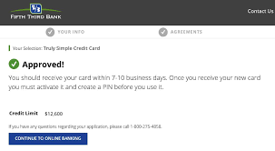 Business Credit Card Instant Approval Fifth Third Bank Instant Approval Myfico Forums 5046762