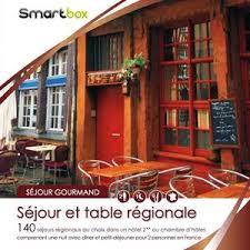 coffret smartbox table et chambre d hote calaméo smartbox sejour et table régionale