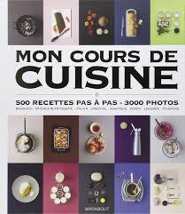 mon cours de cuisine marabout livre de cuisine maj