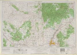 San Francisco Topographic Map by United States Topographic Maps 1 250 000 Perry Castañeda Map