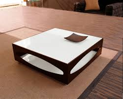 Wooden Material Element Stylish Design Of Contemporary Coffe Tables In Square Shape Made