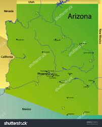 Arizona State Map by 31 Popular Map Of Arizona Usa U2013 Swimnova Com