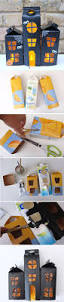 upcycle your milk and juice cartons to build this fun and spooky