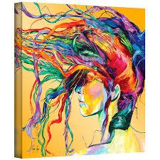 Gallery Art Wall Amazon Com Art Wall Lynn 001 36x36 W Linzi Lynn U0027windswept