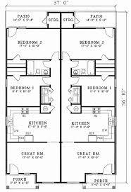 duplex narrow lot floor plans small narrow lot duplex house plan hunters