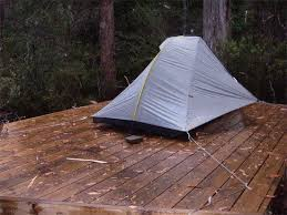 tents for hard surfaces pegless backpacking light