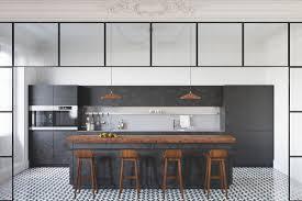 varnished wooden bar stool hardwood floor flower vase grey cabinet