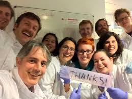 a thank you no make up selfie for t cancer caign dr james flanagan and his