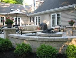 Patio And Firepit Pit Pictures Gallery Landscaping Network