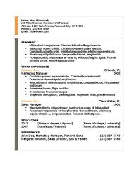 It Sales Resume Sample by Modern Resume Templates 64 Examples Free Download