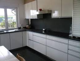 cuisine blanc laqué cuisine blanc laque et gris meilleur idées de conception de