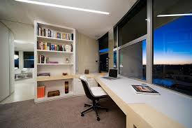 office in home interior gorgeous modern home office design with twin workstations