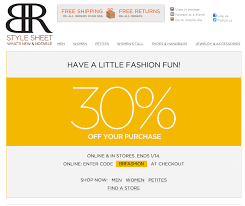 banana republic black friday coupon 30 off at banana republic or online via promo code brfashion