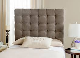Greige Bedroom Button Tufted Headboard Bedroom Furnishings Safavieh