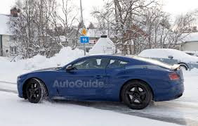 continental bentley 2018 bentley continental gt spy photos reveal more details