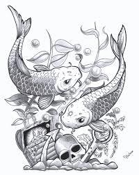 designs for pencil drawing fish pencil drawings fish design