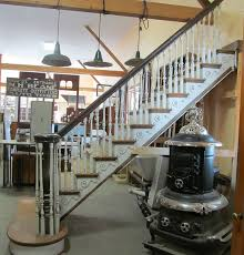 Stair Banister Parts Nor U0027east Architectural Salvage Of South Hampton Nh Antique
