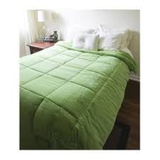 Jersey Knit Comforter Twin Jersey Knit Comforter Twin Xl 100 Cotton Lime Green By Dormco