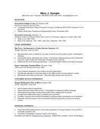 Sample Resume For Food Service by Food Service Resume Template