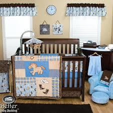 Boy Owl Crib Bedding Sets Better Baby Bedding Trend Lab Baby Boy Cowboy Western Horse Themed