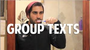 Group Text Meme - why i hate group texts youtube