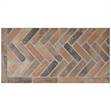 Floor And Decor Austin Tx Brick Tile Flooring The Home Depot