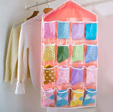 16 pockets clear over door hanging bag shoe rack hanger storage