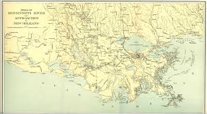 Map Of New Orleans Usa by Capture Of New Orleans Wikipedia