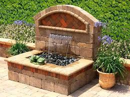 rock garden fountain designs outdoor rock water fountain designs