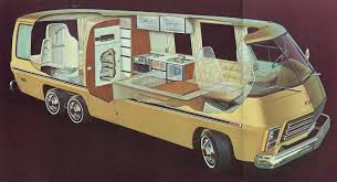 motor home interior the 1974 gmc motorhome an rv with a younger rvshare com