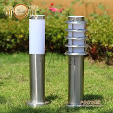 Stainless Steel Outdoor Lighting Brief Outdoor Garden Lawn L Stainless Steel Iluminacion Jardin