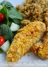 crunchy ranch chicken tenders recipe finding zest