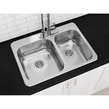 Mobile Home Stainless Steel Sinks by Kitchen Sinks Bar Top Mount Double Bowl Corner Flooring