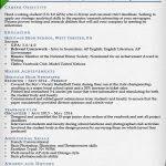College Student Internship Resume Resume Templates For College Students For Internships Resume