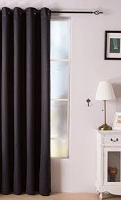 84 Inch Curtains Valea Home Room Darkening Blackout Curtains Grommet Top Window
