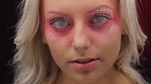 prescription contact lenses halloween pink mesh coloured contact lenses youtube