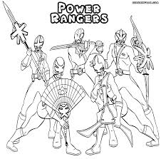 power rangers coloring page free printable power rangers coloring