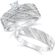 his and hers engagement rings sets wedding rings his sets