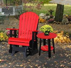Gliding Adirondack Chairs Outdoor Furniture