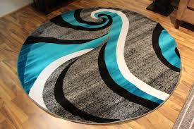 Round Seagrass Rug by Teal And Black Area Rug Of Round Rugs Cool Seagrass Rugs Wuqiang Co