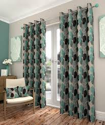 Teal Curtains Athena Teal Ready Made Eyelet Curtains Harry Corry Limited