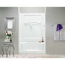 sterling 48 in white shower base 62031100 0 do it best