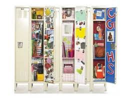 high school stuff 12 best creative lockers interiors images on lockers