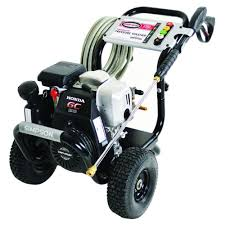 simpson megashot 3 100 psi 2 5 gpm gas pressure washer powered by