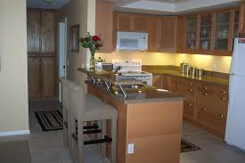 best kitchen counter material with modern two tier kitchen islands