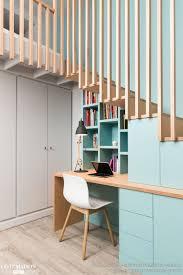 bureau sous mezzanine lit mezzanine bois 1 place luxe chambre avec vue menuiseries