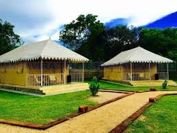 China Garden Swiss Cottage - swiss cottage tents exporter from ghaziabad