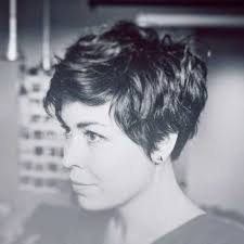 hairstyles for thick grey wavy hair best 25 wavy pixie ideas on pinterest wavy pixie haircut short