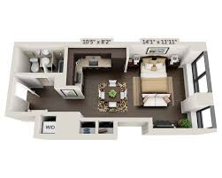 floor plans and pricing for 95 wall financial district
